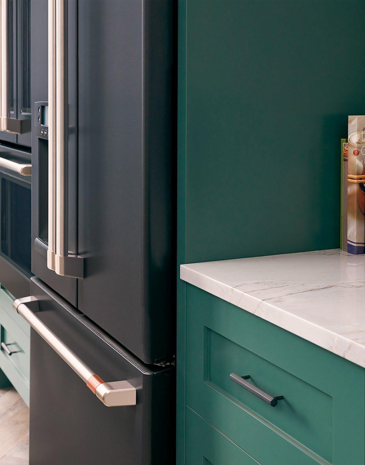 counter depth bottom freezer refrigerator