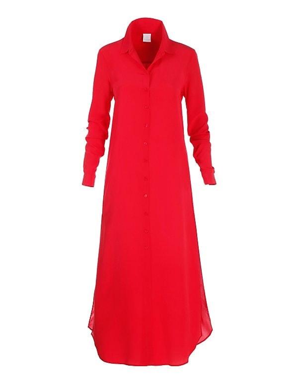 Blusenmantel oder Sommerkleid aus reiner Seide