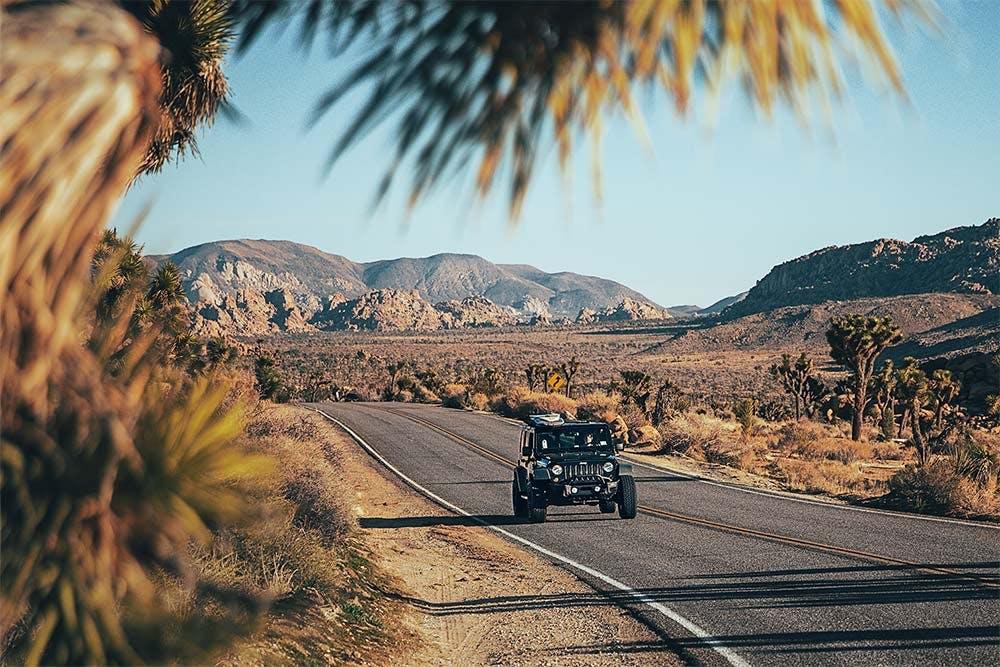 Kalifornisches Hinterland