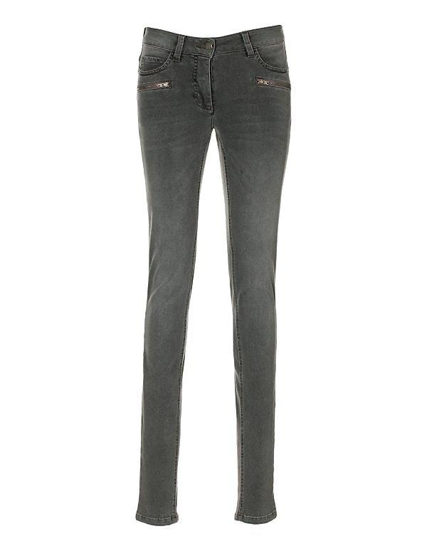 Schmale Damen-Jeans aus Power-Stretch
