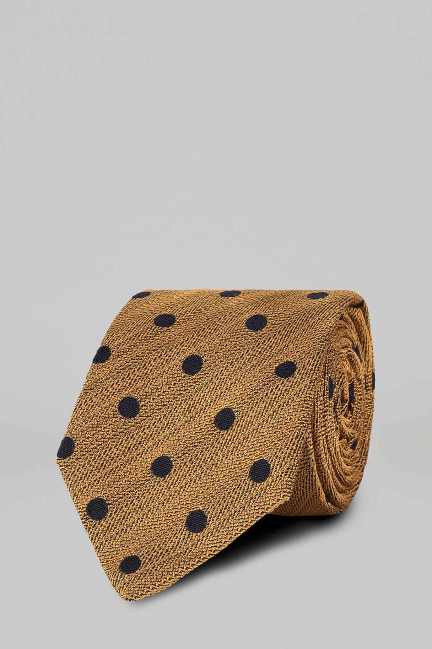 Christmas ideas for men polka-dot tie by Boggi Milano