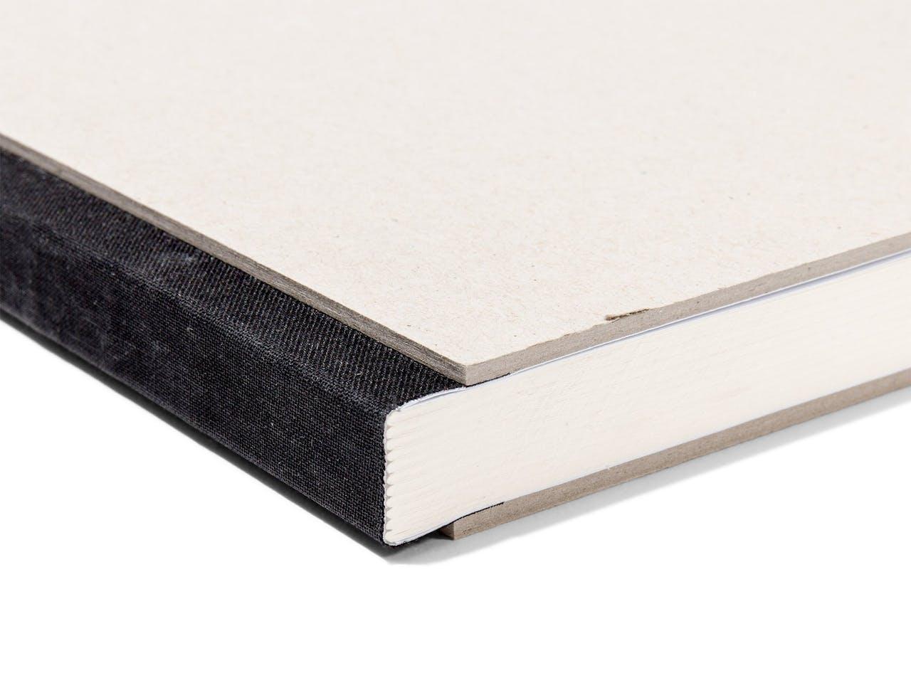 Projekt-Skizzenbuch, 100 g/m², 210x297 DIN A4 quer,72 Bl./144 S.,schw.