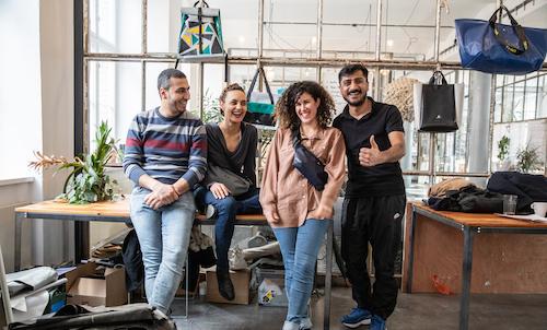 Modulor im Gespräch mit: Studiobesuch beim Berliner Taschenlabel mimycri