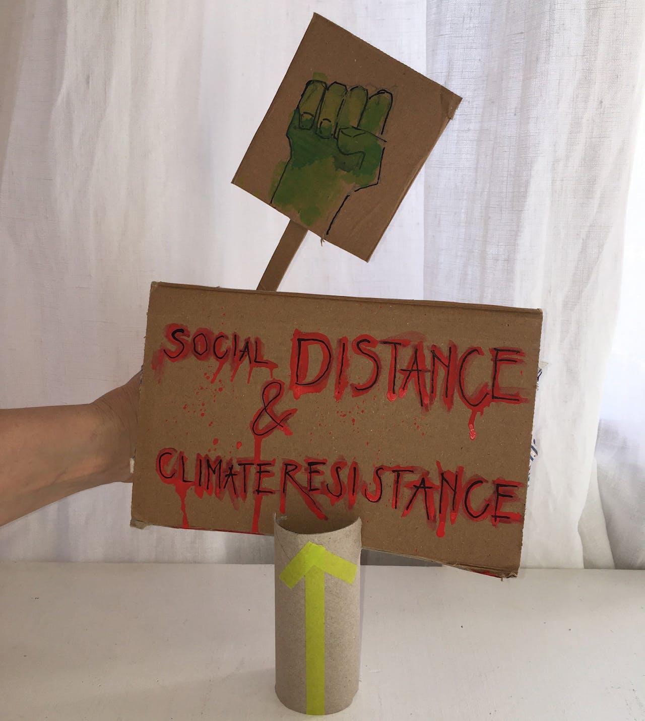 Netstreik fürs Klima am 24.04.2020: Modulor war dabei!