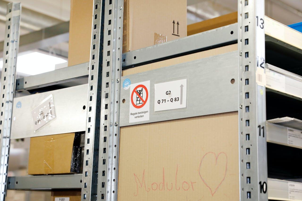 Modulor Logistik am Moritzplatz: Ein Blick hinter die Kulissen