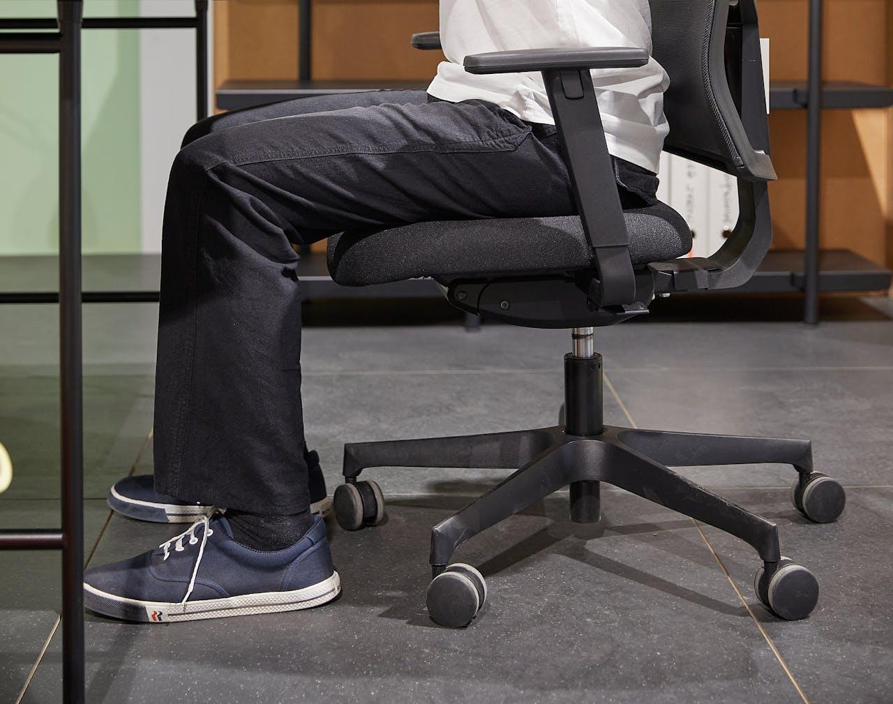 Richtig sitzen am Schreibtisch