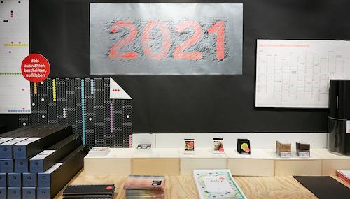 Planer und Kalender 2021 bei Modulor: Neues Jahr, neues Glück