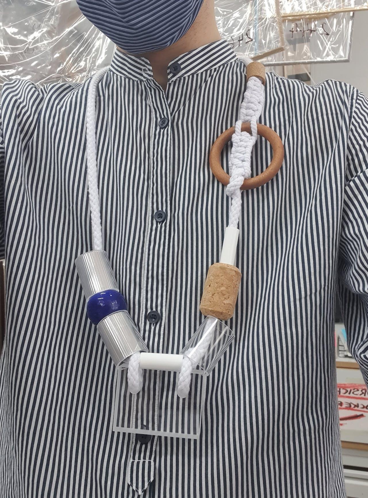 Erens DIY Kette im Bauhaus Stil: Kette selbermachen
