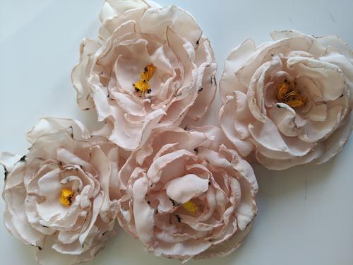 Moduloris machen: Noras Chiffon-Blumen