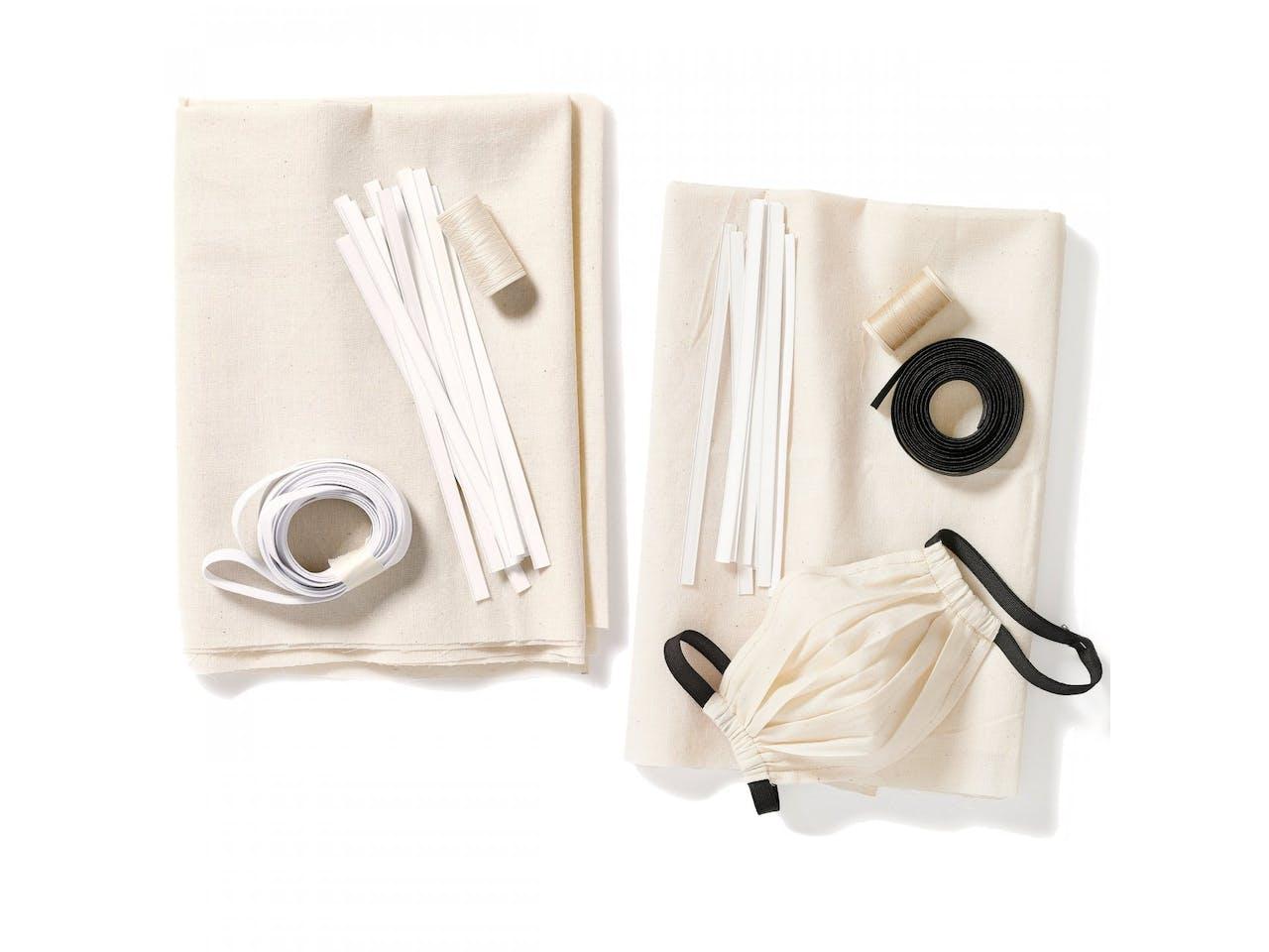 DIY Nähset Behelfs-Mund-Nasen-Maske (Burda Typ 2)