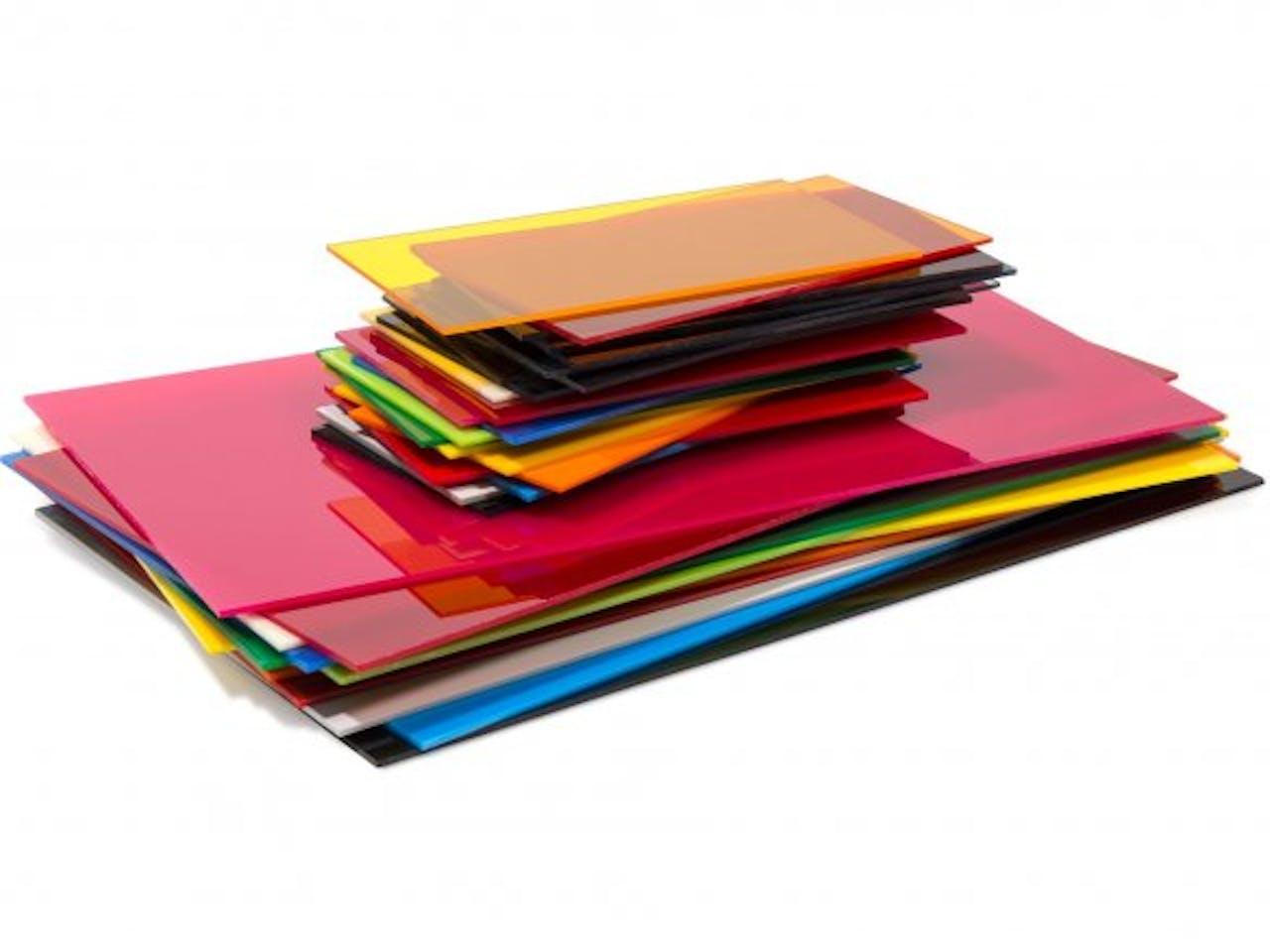PLEXIGLAS® GS farbig, 3 mm, 3,0 x 250 x 500 mm, gelb, opak (1H01)