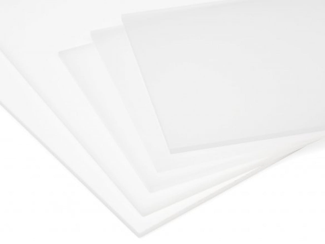 PLEXIGLAS® GS weiß (milchig), 3,0 x 250 x 500, weiß-opak (WH01)