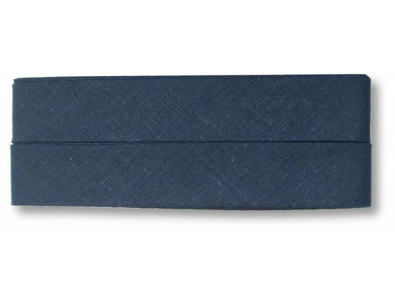Prym Baumwolle Schrägband 40/20 mm, l = 3,5 m, marine (903357)