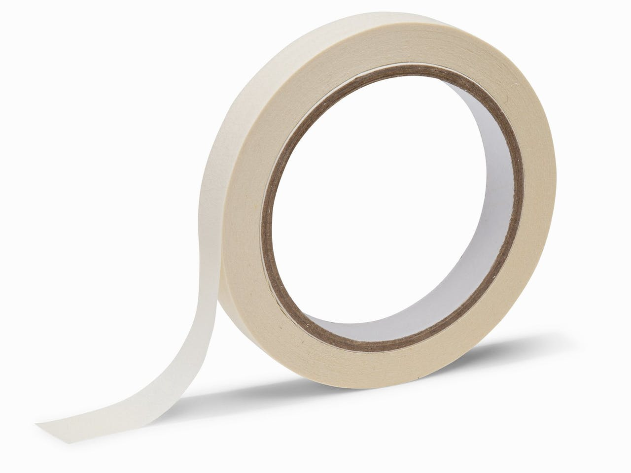 Design Kreppband für Tape Art, 15 mm, 25 m, einfach repositionierbar, weiß