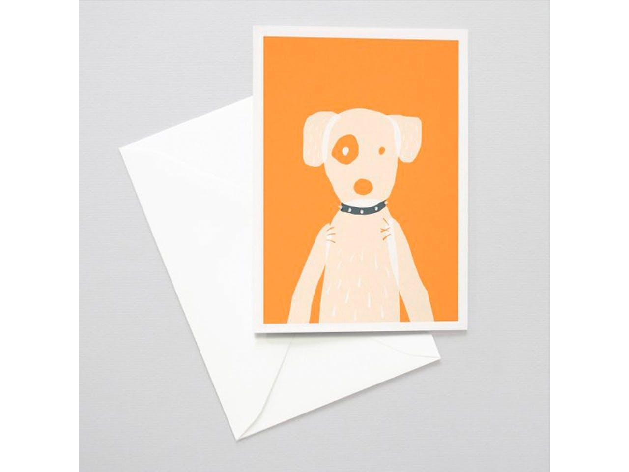 Papermint Grußkarte, DIN A6/C6, Klappkarte mit Kuvert, Doggy