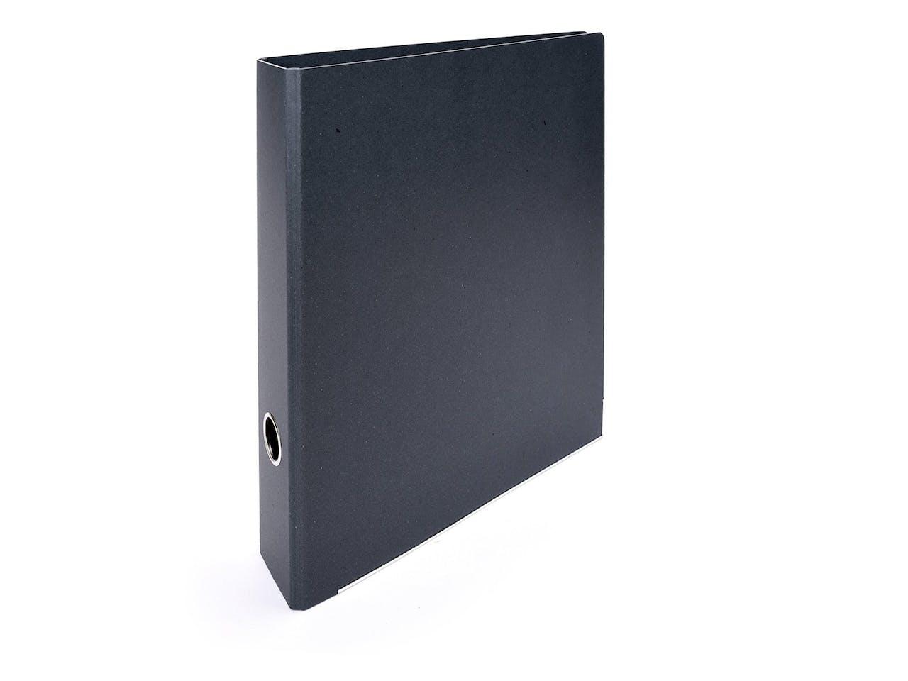 Tyyp Manufaktur Berlin Ordner, f. DIN A4, Rückenbreite 62mm, Metallkante, schwarz