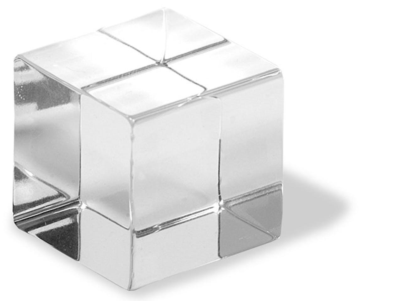 Acrylglas XT Würfel, transparent, b = 30,0 mm