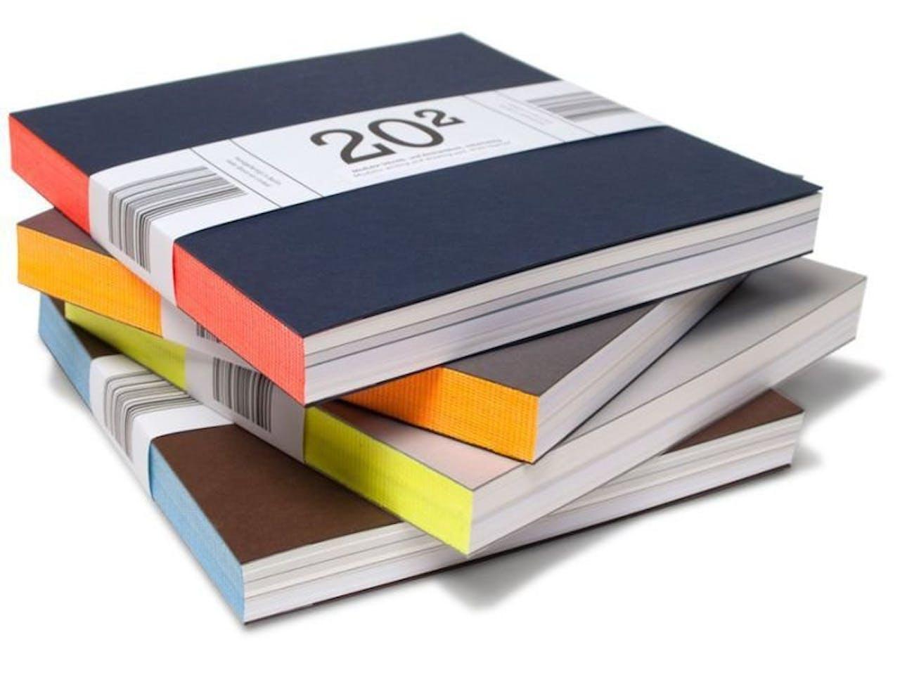 20 hoch 2 Modulor Schreib- und Skizzenbuch, diverse Farben