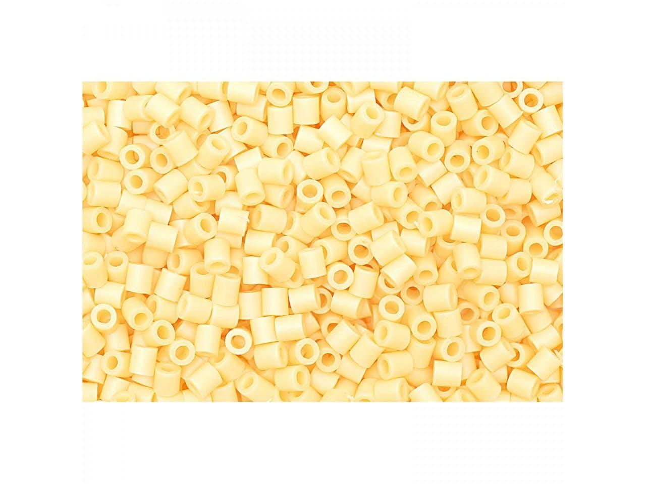 Bügelperlen, 50 x 50 mm, ca. 1000 Stück, vanille