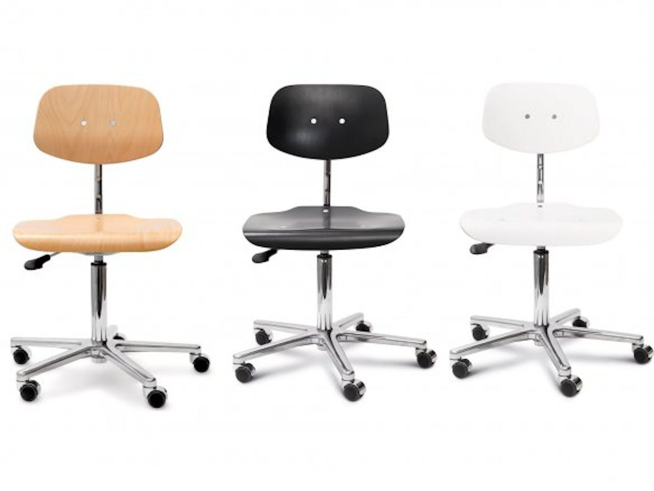 Zubehör für Modulor Stühle, Ersatzrollen hart, schwarz, 5 Stück