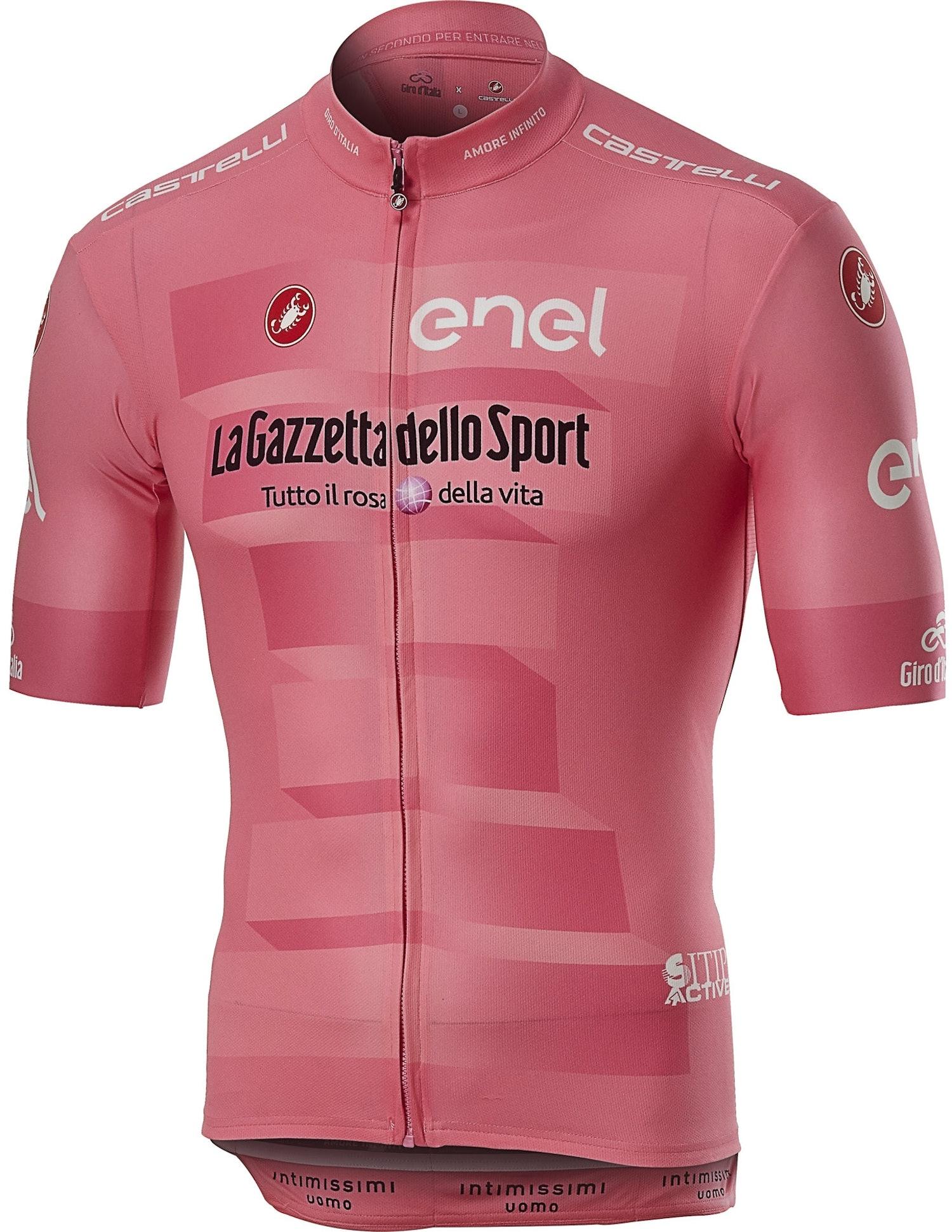 Castelli #Giro102 Squadra - Maglia Rosa del Giro d'Italia 2019