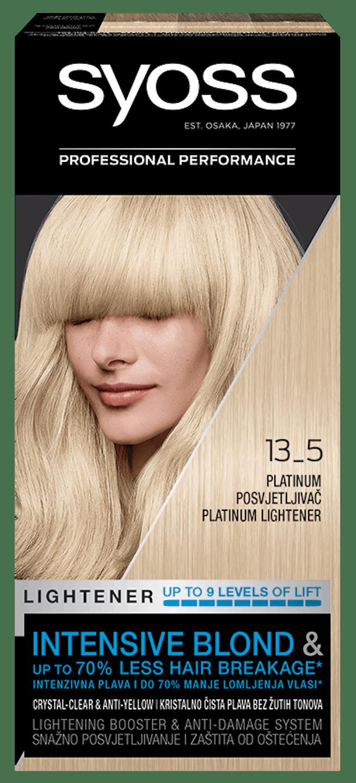Syoss trajna koloracija posvetljivač Platinum Posvetljivač 13_5 shot pack