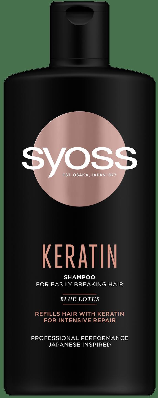 Syoss Keratin šampon shot pack