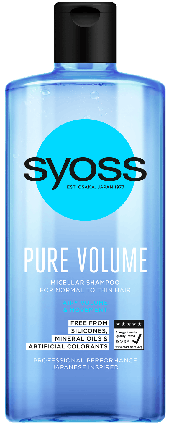 Syoss Pure Volume Šampon shot pack