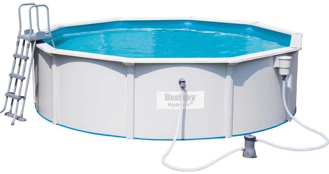 Bestway Hydrium Stahlwand Pool-Set 460 cm x 120 cm