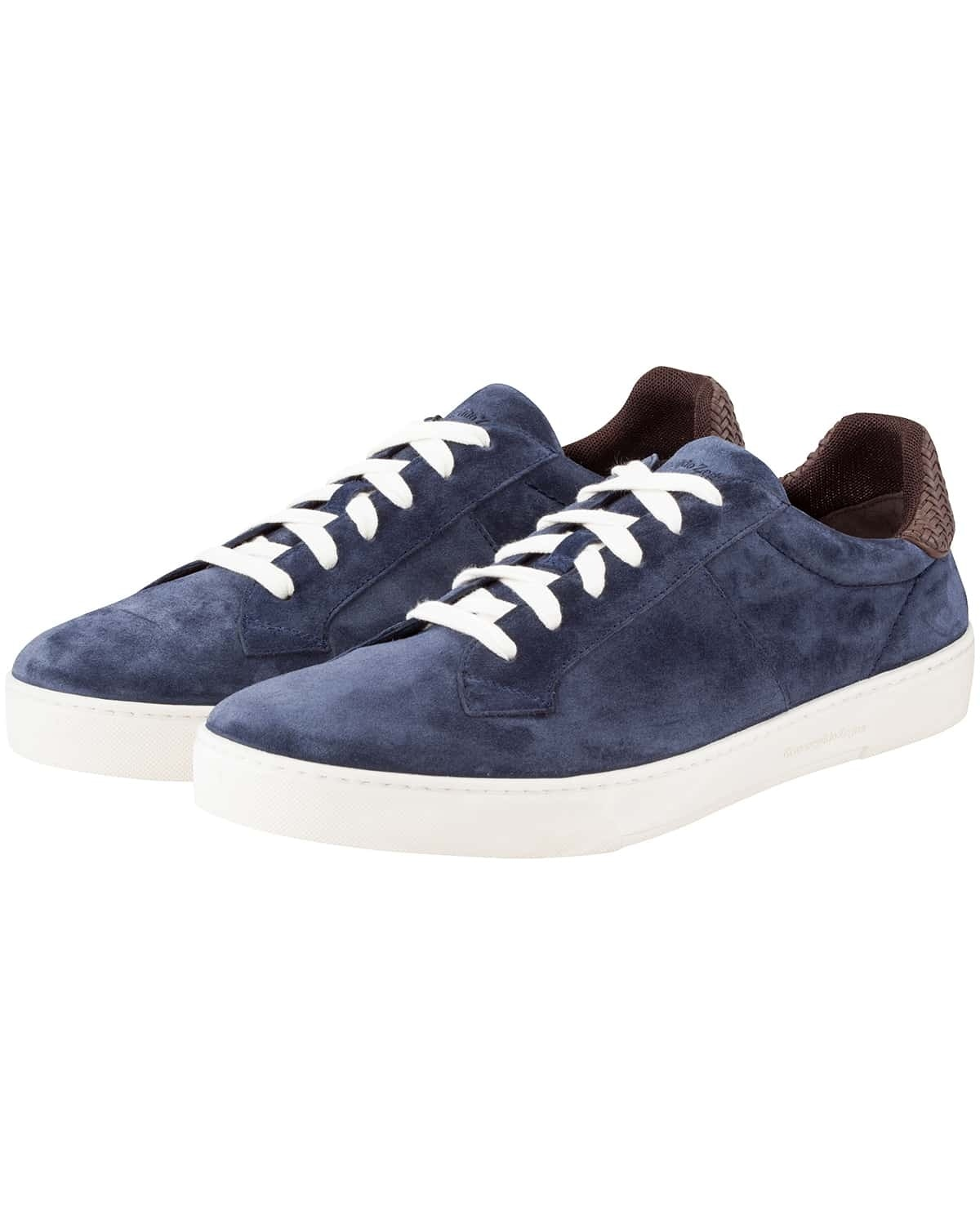 Ermenegildo Zegna, Spring-Summer Collection 2019, Sneaker, Blue, Italian, Low Top, Lodenfrey, Munich