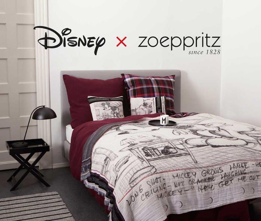 Disney x Zoeppritz: Die Ur-Maus von 1928 kehrt zurück.