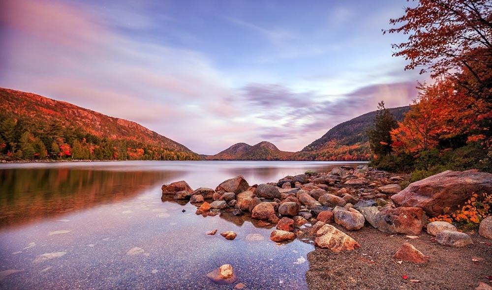 Acadia National Park im Herbst