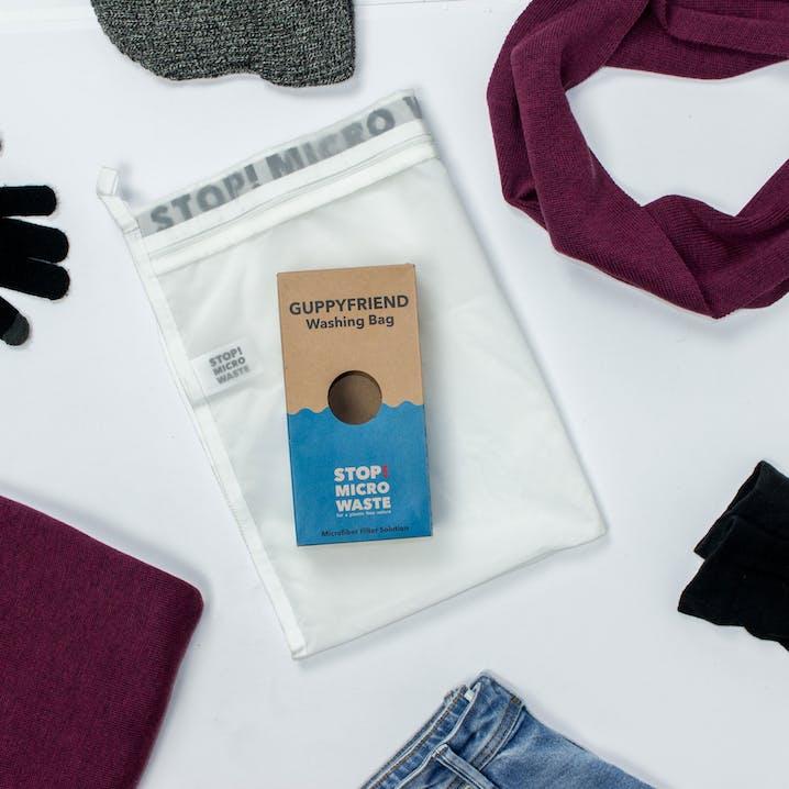 Guppyfriend Öko-Waschbeutel Washing bag Stop Micro Waste