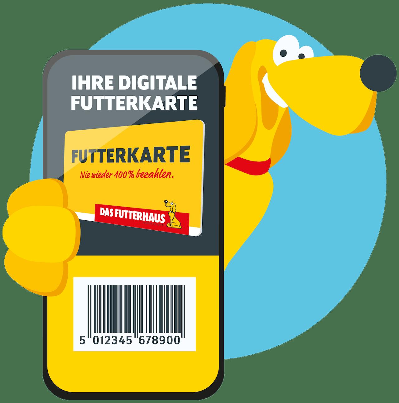 Digitale FUTTERKARTE