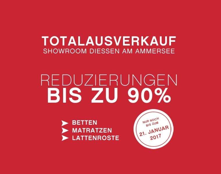 Totalausverkauf in Diessen am Ammersee