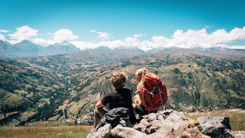 Wanderer in Peru