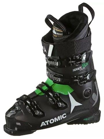 Atomic Skischuhe schwarz grün