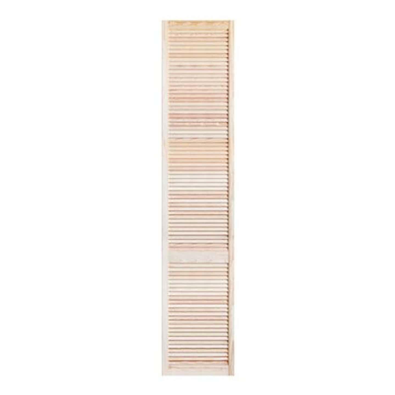 Drzwiczki ażurowe, sosnowe, wym. 49,4 cm x 242,2 cm