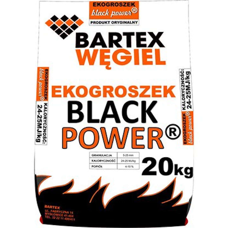 Ekogroszek kamienny Black Power 24-25 MJ 1000 kg