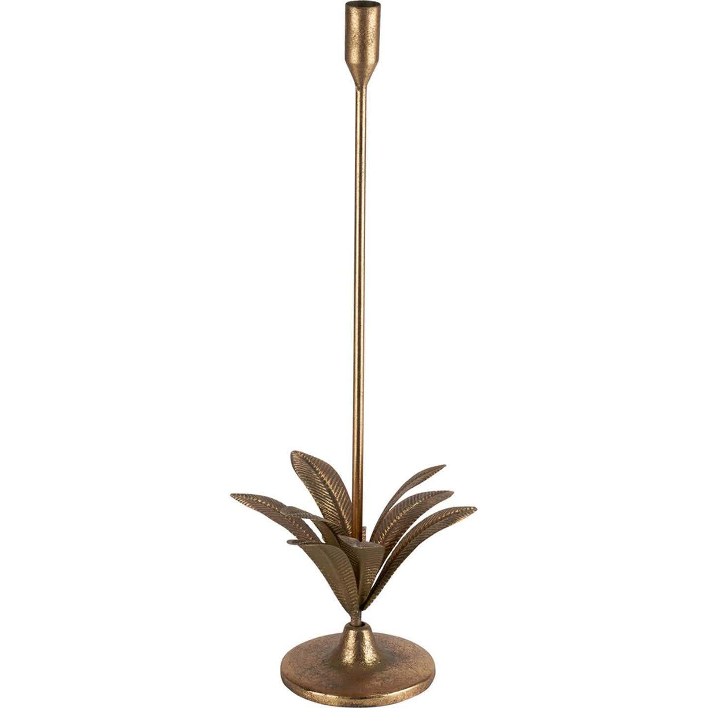 Świecznik Exotic Jungle złoty 17 x 50 cm