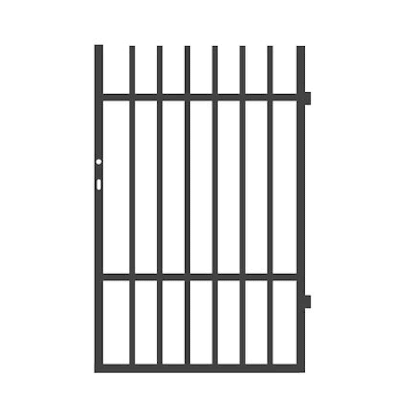 Jarmex Furtka Roma Prawa antracyt mat 90 cm x 140 cm