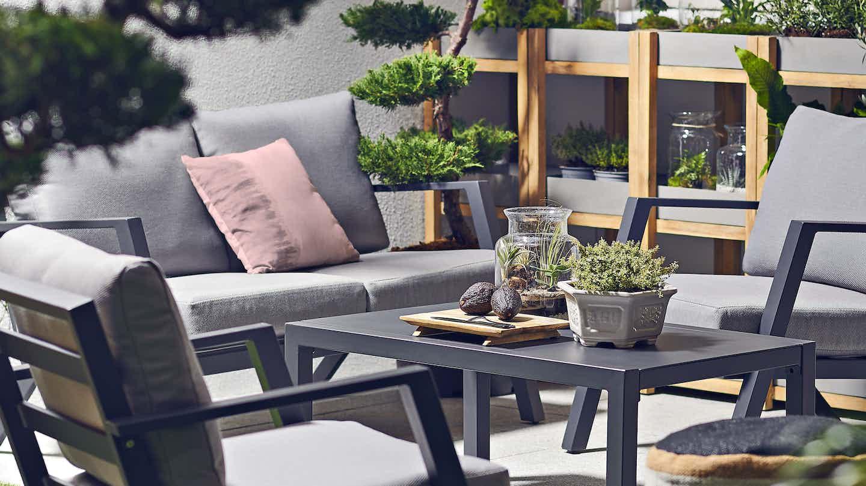 Ogród w stylu minimalistycznym