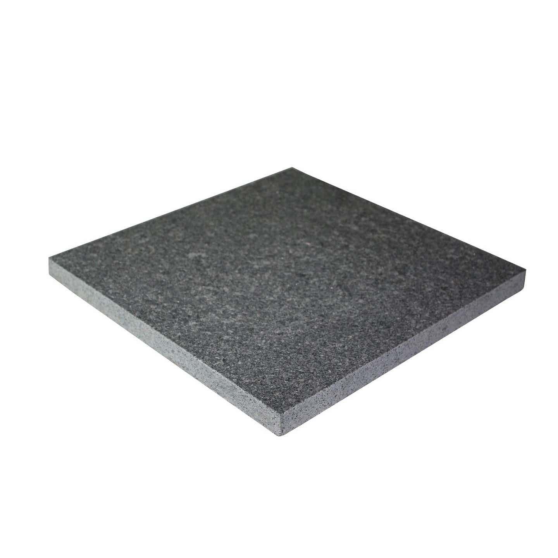 Płyta granitowa antracytowa 30 cm x 30 cm x 2 cm