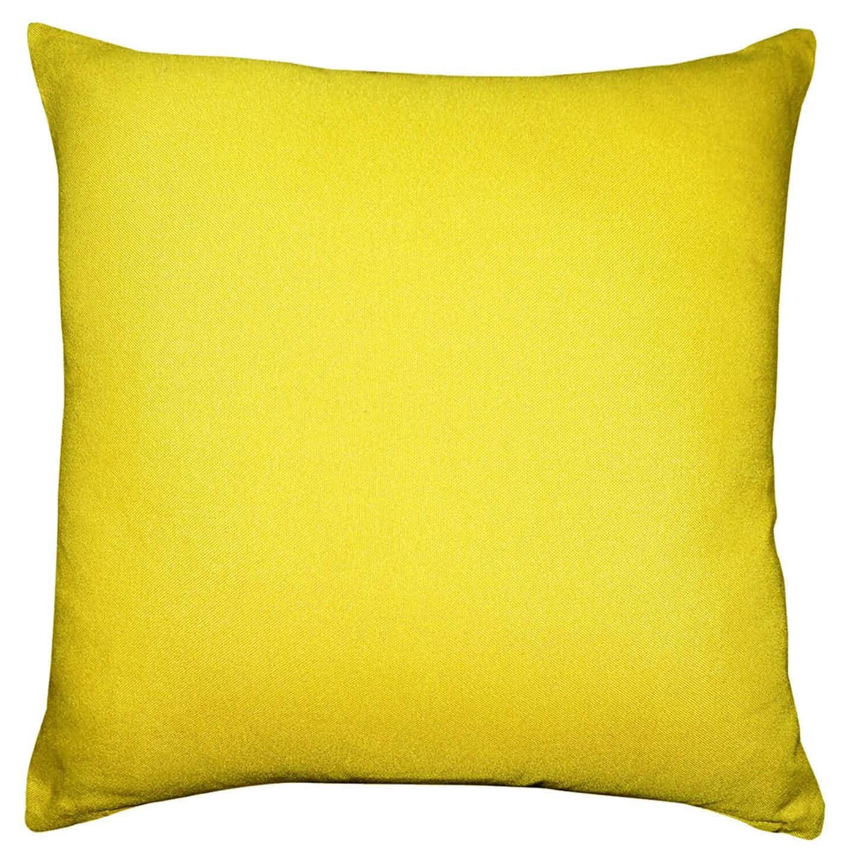 Poduszka dekoracyjna żółta  40x40 cm