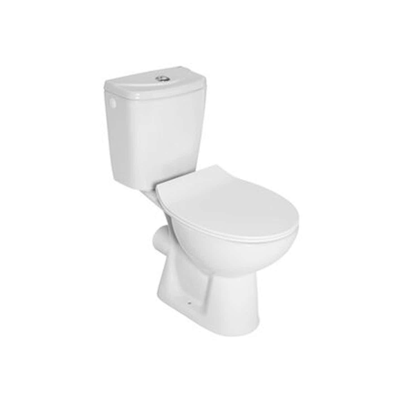 Inker Kompakt WC poziomy  Modena z deską wolnoopadającą