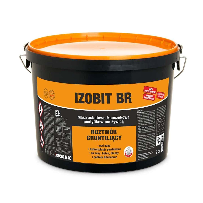 Izolex Masa asfaltowo-kauczukowa Izobit Br 9 kg