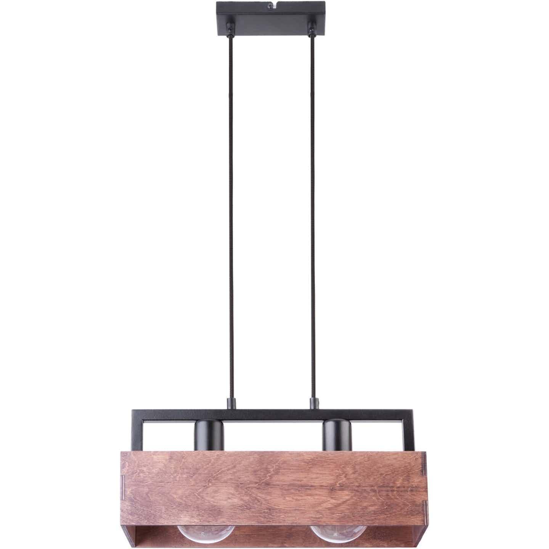Sigma Lampa wisząca DAKOTA czarna 2x60W E27