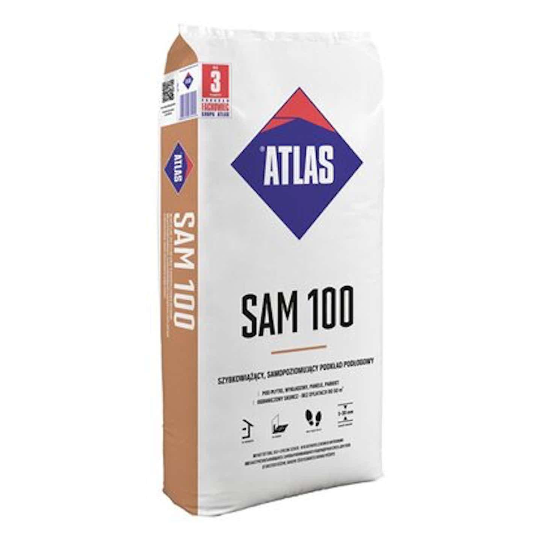 Atlas podkład samopoziomujący SAM 100 25 kg