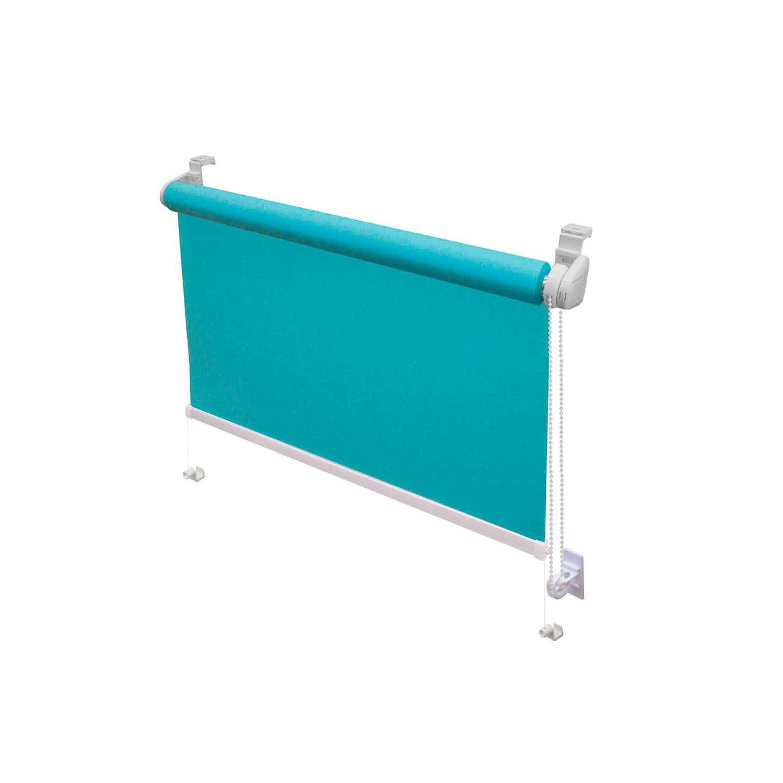 Mini roleta ROYAL turkusowa 105 cm x 160 cm