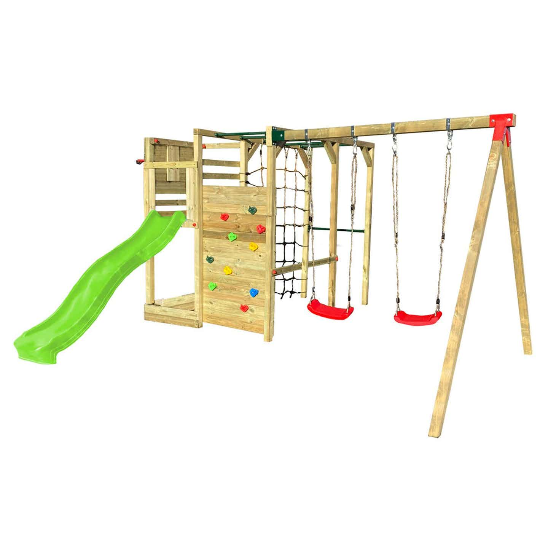 Plac zabaw Ninja Box 4 447 x 225 wys.210 cm